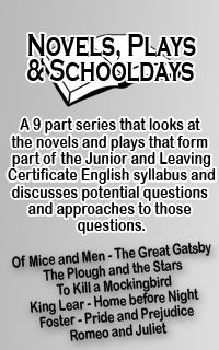 Novels, Plays & Schooldays