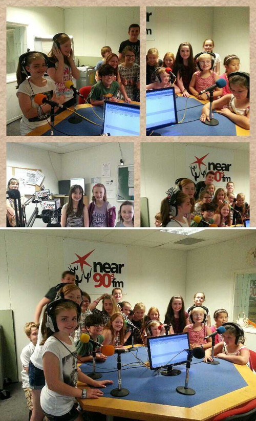 SoundsGood summer camp visit to Lifeline on Nearfm