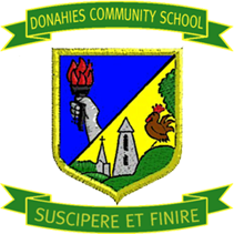 Donahies Community School - Logo