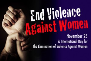 25th Nov – Panel Discussion 'Stop Violence Against Women'