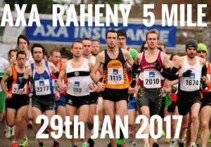 AXA Raheny 5 Road Race Live on Near FM – Sunday 29th January from 2.30 to 4pm