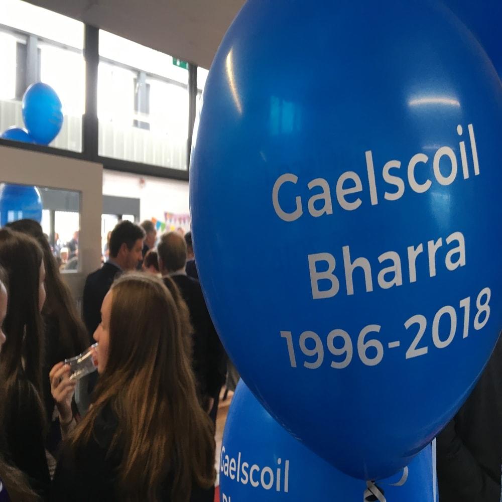 Gaelscoil Bharra – Inniu agus inné